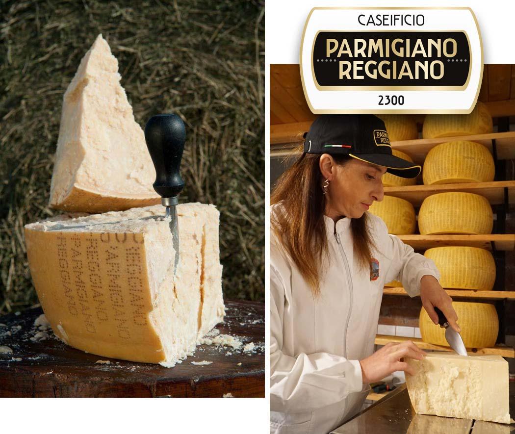 Produzione e vendita Parmigiano Reggiano