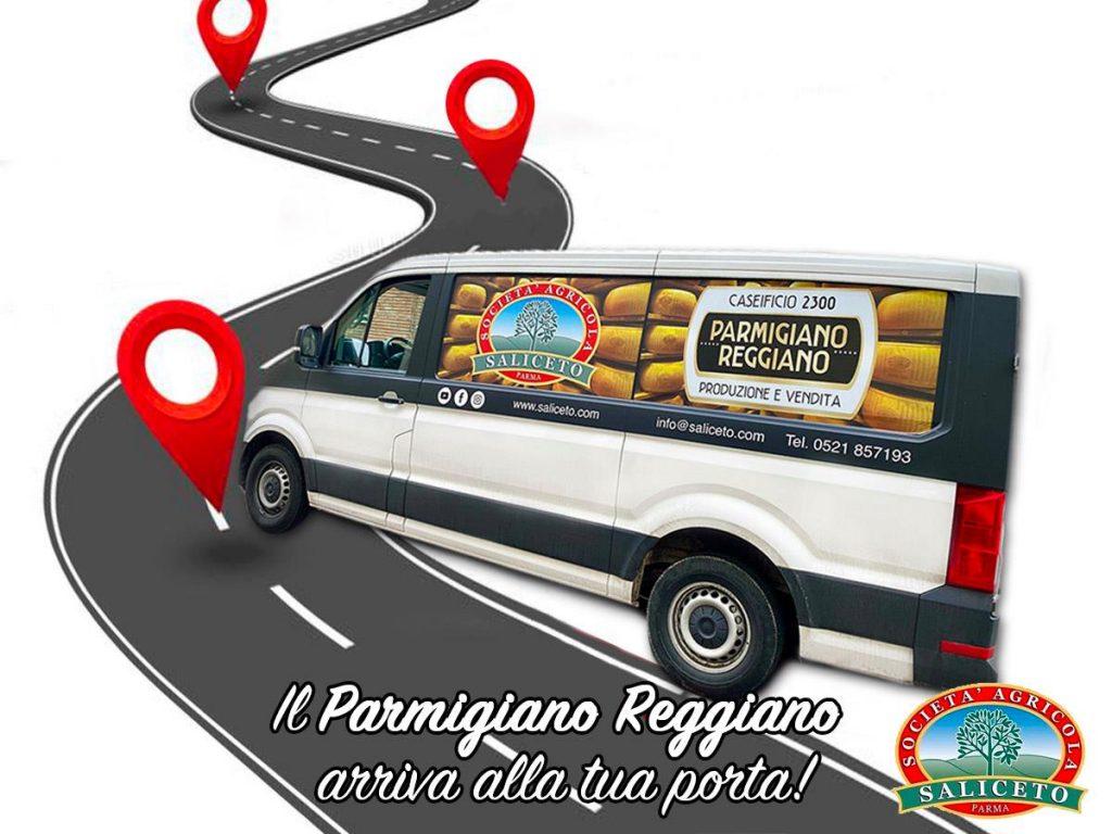 Parmigiano Reggiano - Consegne a domicilio